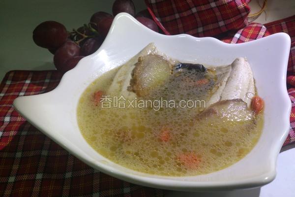 姜妈麻油虱目鱼汤