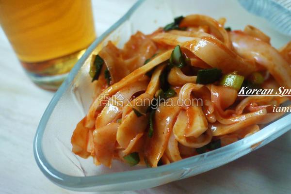 韩式腌墨鱼