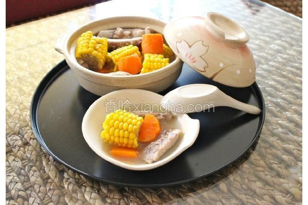 玉米萝卜猪骨汤