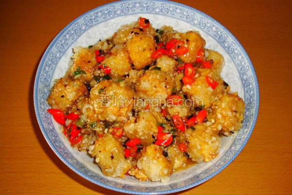 <川菜>鱼香豆腐