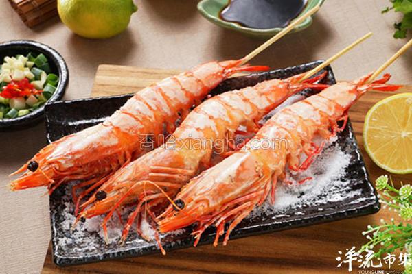 盐烤大虾的做法
