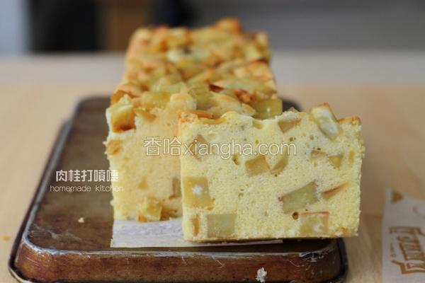 金时地瓜磅蛋糕