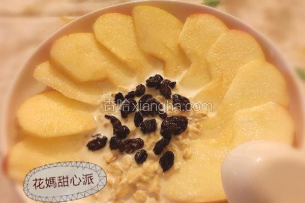 果香燕麦粥