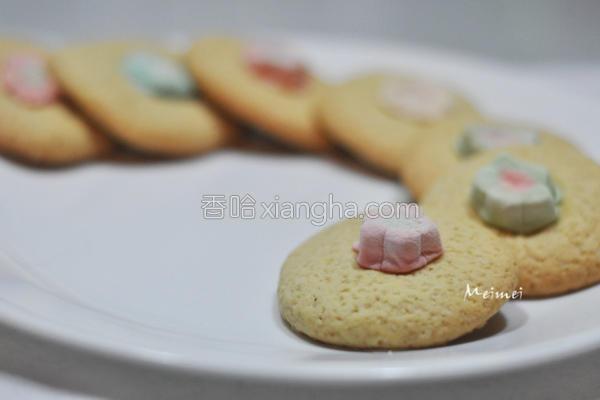 棉花糖原味饼干