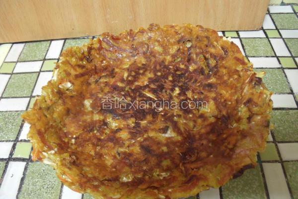 咖哩蔬菜煎饼