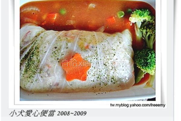 高丽菜卷意式炖饭