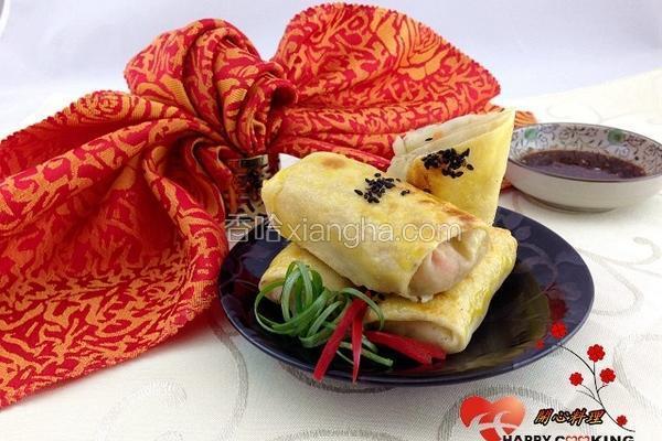 低卡蔬食烤春卷