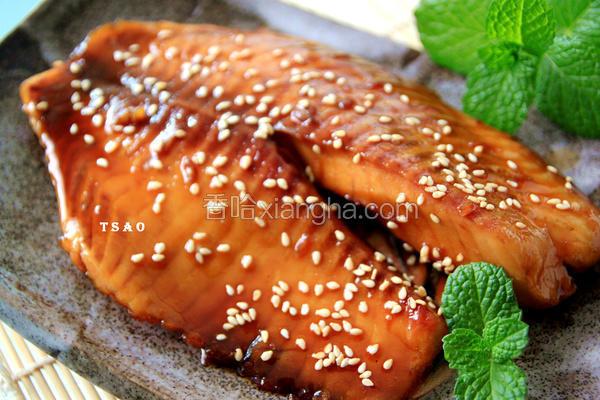 蒲烧鲷鱼片