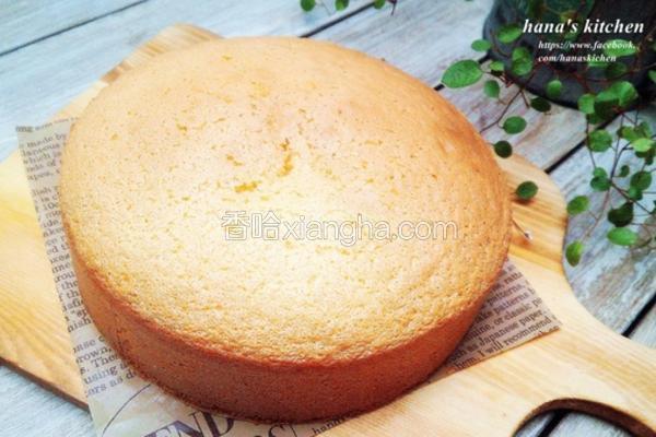 日式基础海绵蛋糕