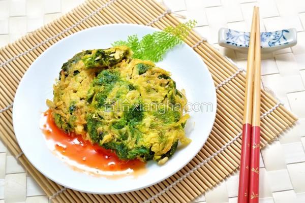 海菜牛蒡天妇罗