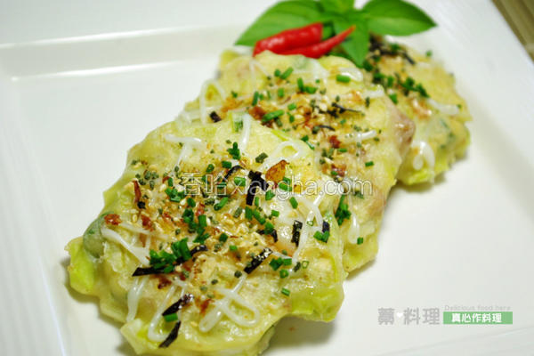 韭黄海鲜煎饼