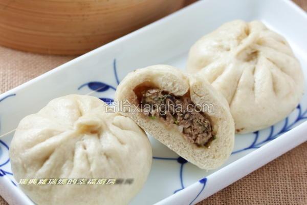 香菇葱花肉包