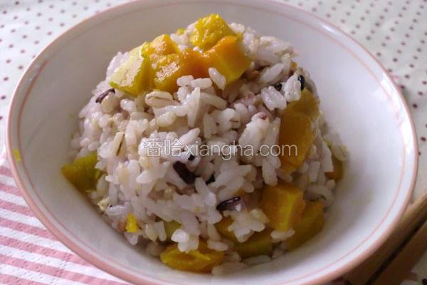 十谷米南瓜饭