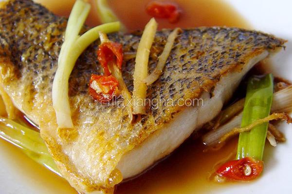 厚生厨房葱烧鲈鱼