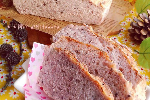 紫米乡村面包