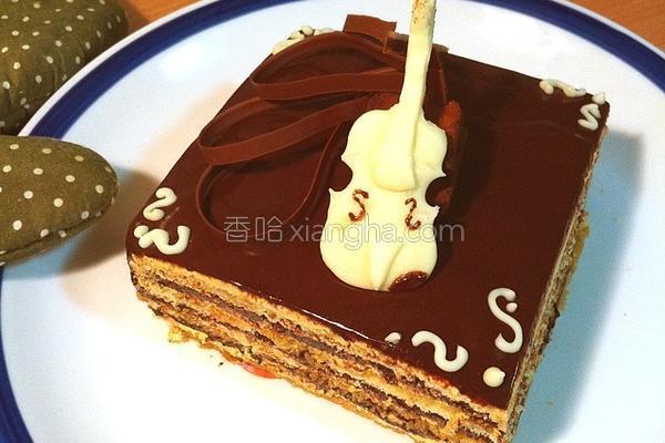 法式剧院蛋糕