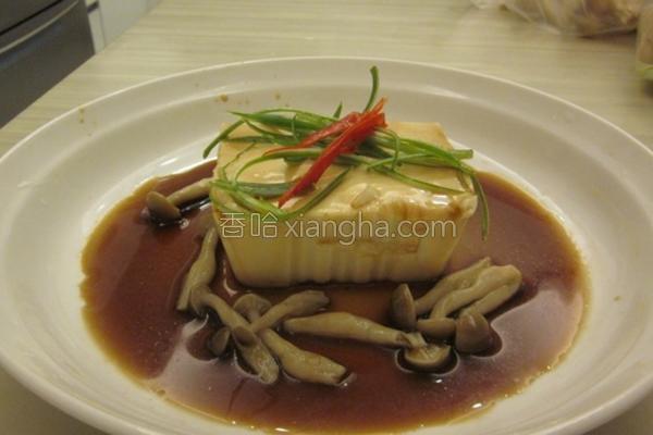 菇菇凉拌豆腐