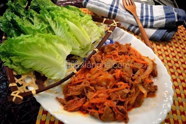 韩式烧牛肉