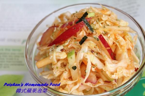 韩式苹果泡菜