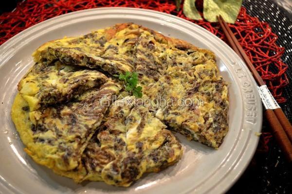 紫菜银鱼煎蛋