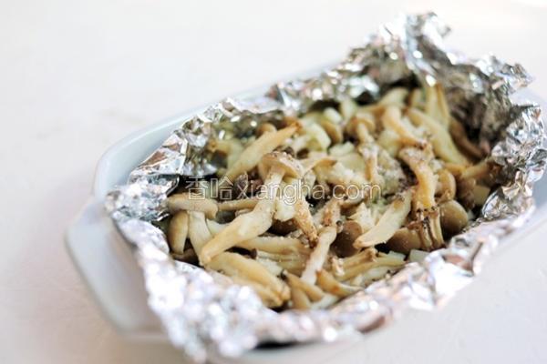 奶油海鲜菇