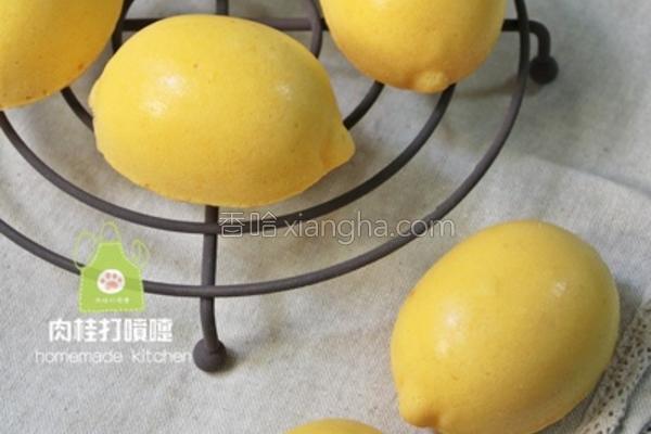 柠檬造型蛋糕
