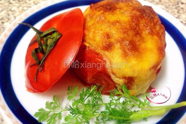焗烤番茄盅