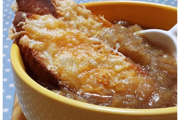 经典法式洋葱汤的做法