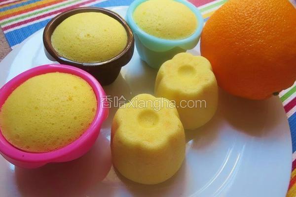 橙香蒸蛋糕