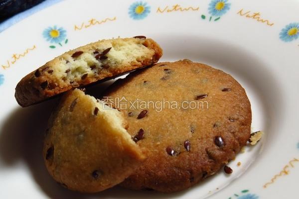 亚麻籽饼干