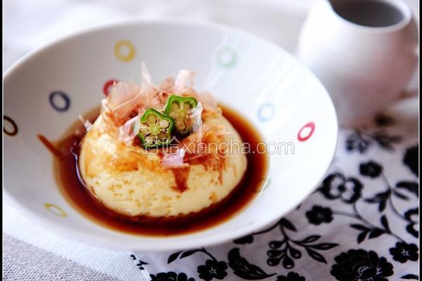 自制蛋豆腐