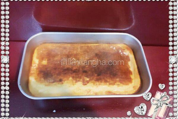 红豆烤米布丁