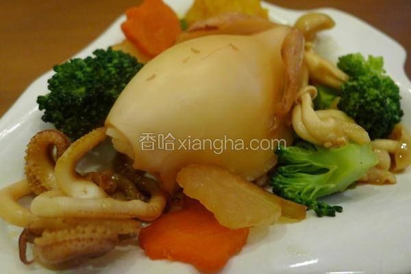 起司海鲜饭