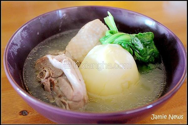 韩式马铃薯炖鸡汤