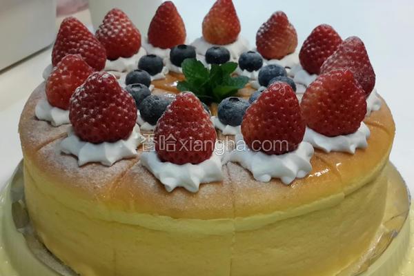 轻乳酪草莓蛋糕