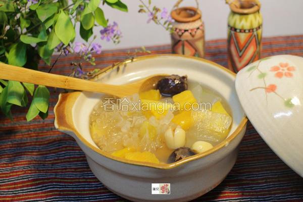 芦荟莲子养生甜汤