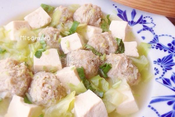 肉丸豆腐清汤