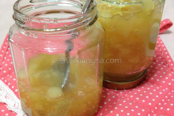 蜂蜜苹果果酱