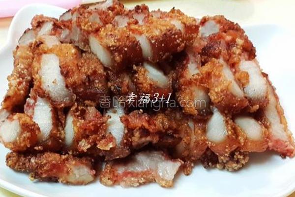 酥炸红槽肉