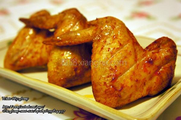 匈牙利辣烤鸡翅的做法