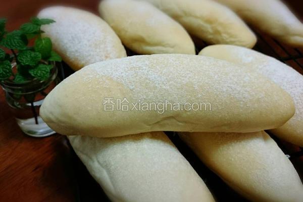 松软白面包