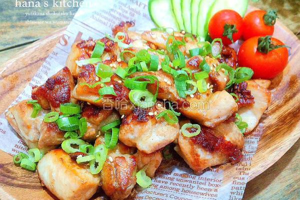 日式椒盐烧烤鸡块