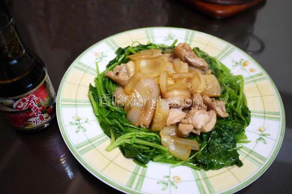 寿喜洋葱鸡