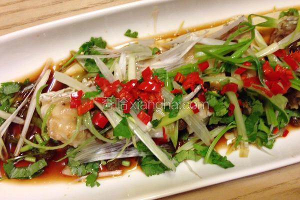 剁椒豆豉清蒸鱼片