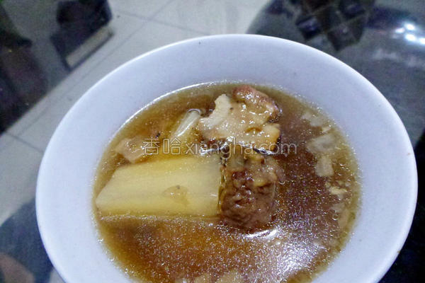 菜头排骨酥汤
