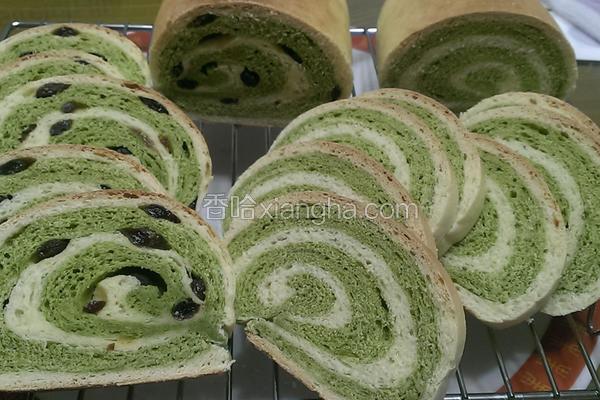 料理抹茶木材面包