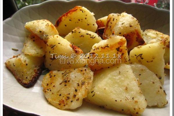 香烤马铃薯