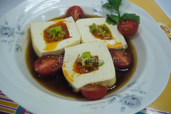 鱼卵辣椒镶豆腐