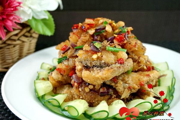 椒盐香酥鱼
