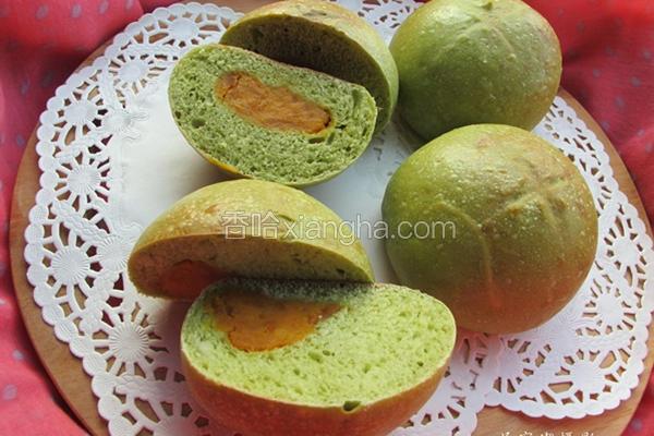 抹茶地瓜面包